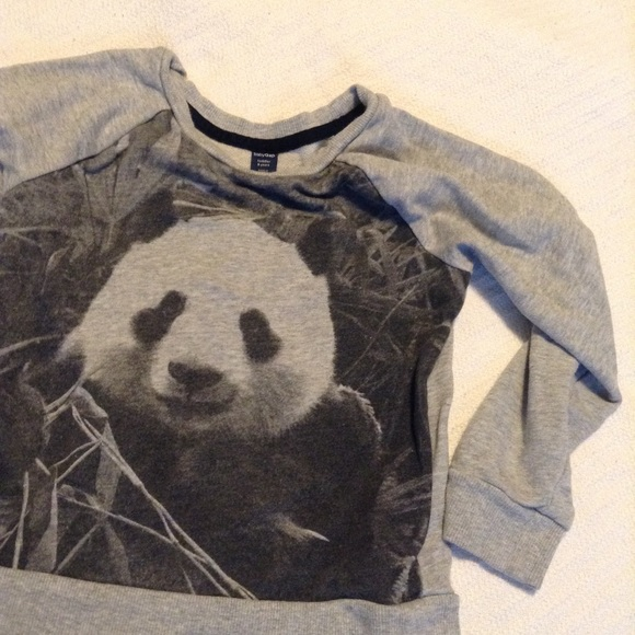 Other - Girls long sleeve panda top